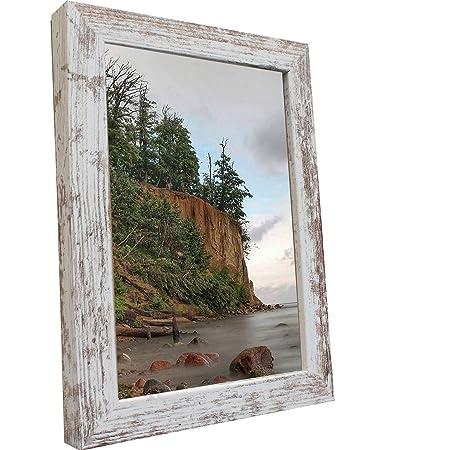 Bilderrahmen Fotorahmen 50x70 cm Vintage bilderrahmen zum aufhängen MDF Picture Frames Farbe und 40 Verschiedene Größen wählb