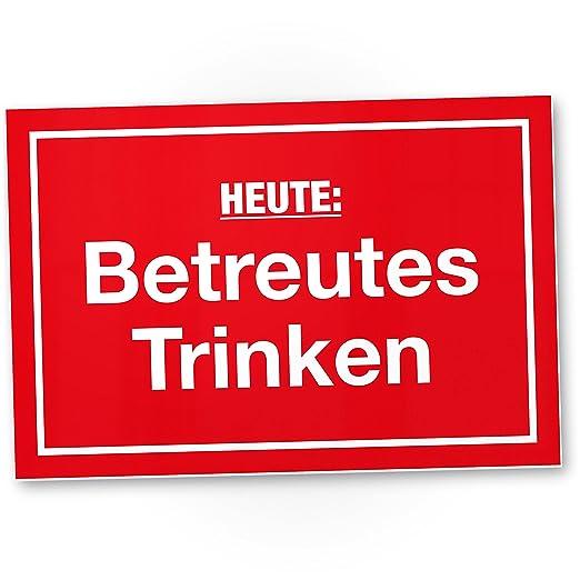 dankedir. Hoy betreutes Beber Nota - Plástico Cartel con ...