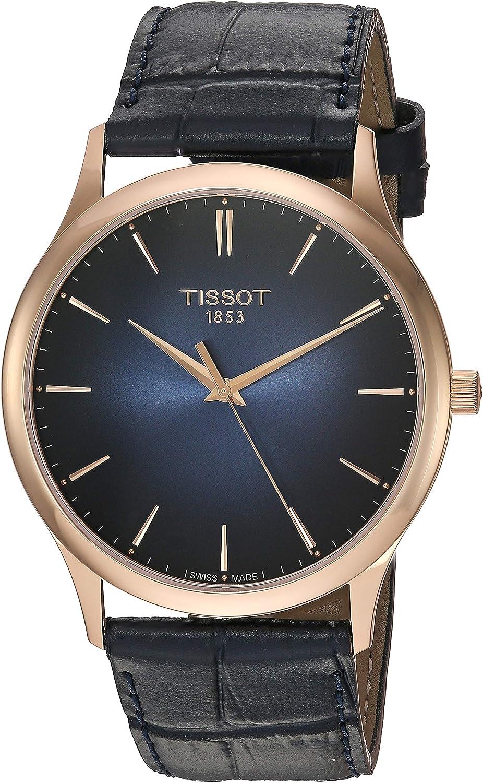 Tissot Mens Excellence Swiss Quartz Steel And 18K Gold Dress Watch (Model: T9264107604100)