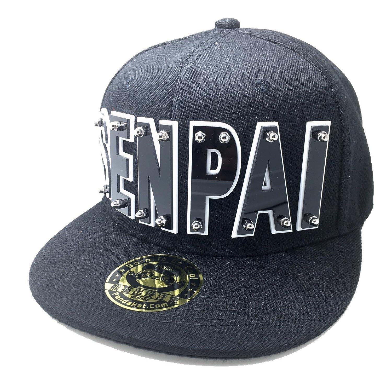 11a5b540cc0 Senpai Hat in Black at Amazon Women s Clothing store