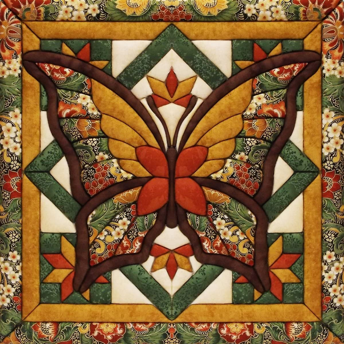 Wall Quilt Kit Butterfly Magic 12 x 12inch Flower