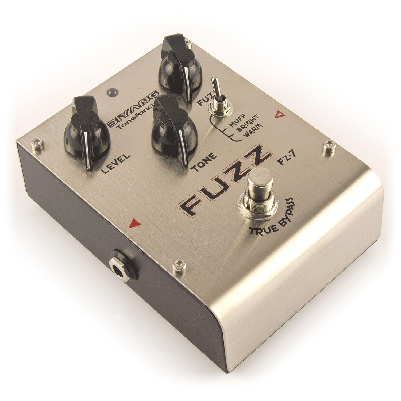 Biyang FZ-7 Fuzz Distortion Gitarre Effects Pedal Effekte-Pedal
