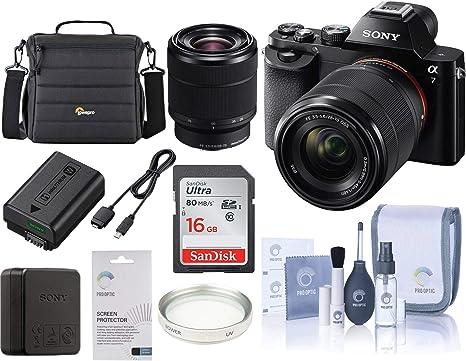 Sony Alpha a7 Digital Cámara de Mano con 28 – 70 mm Lente. Valor ...