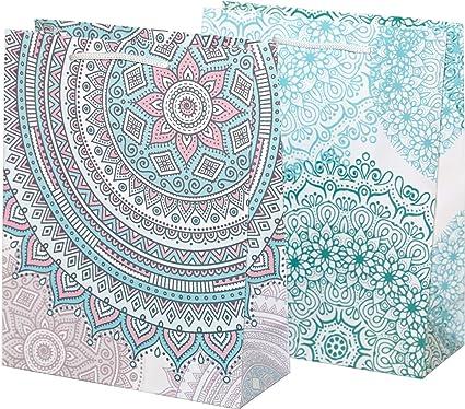 100% Mosel bolsas de regalo, 18 x 23 x 8 cm, 12 unidades ...