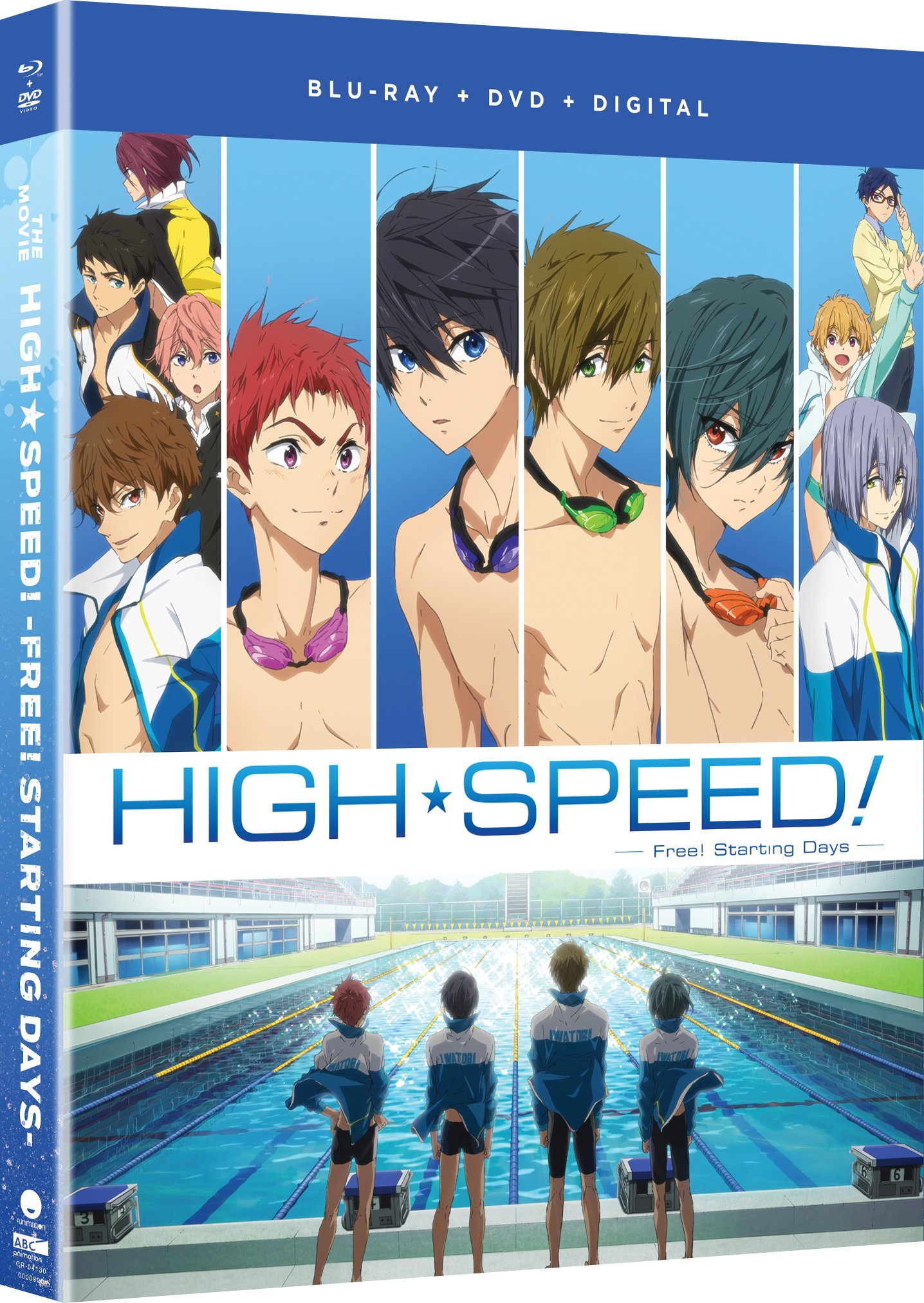 Blu-ray : Free!: High Speed! - Free! Starting Days - The Movie (With DVD, Standard Edition, Uncut, Subtitled, Snap Case)