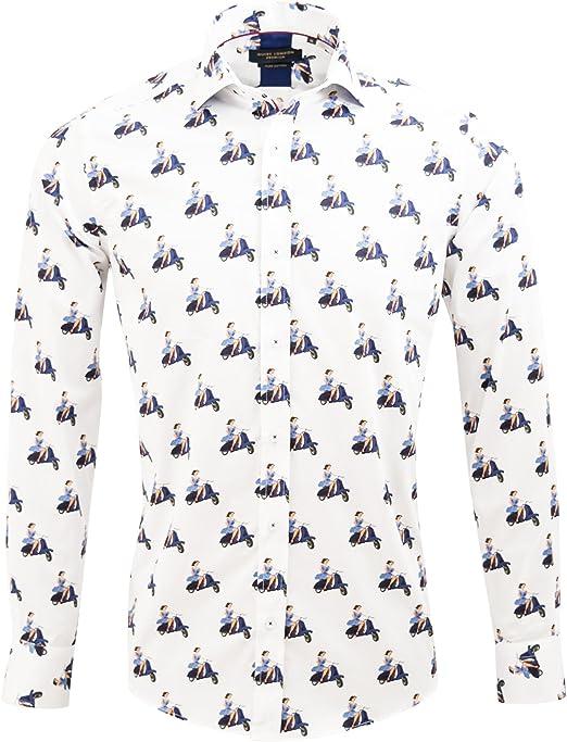 Vintage Vespa White T-Shirt Sz S 5XL