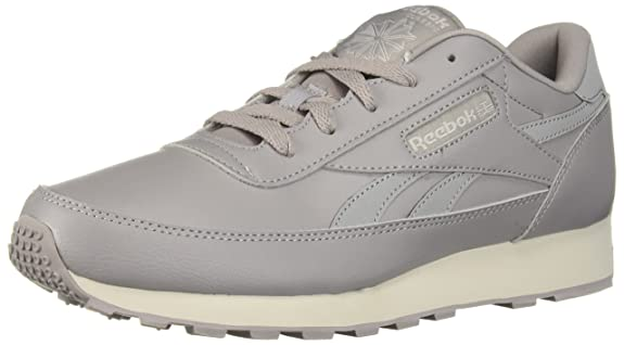 Reebok Men's Classic Renaissance Walking Shoe, USA-Powder Skull Grey, 6 M US