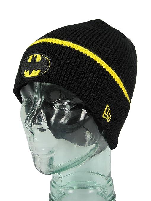 New Era Pop Polsino 3 Batman Cappello Di Lana  Amazon.it  Sport e ... df3a8bf63e4d