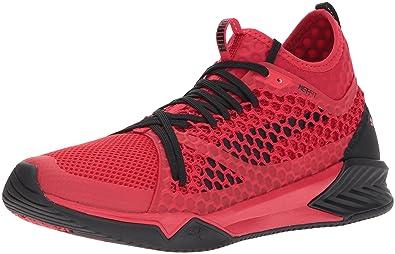 1b3e83da7f0 Puma Ignite XT Netfit Hommes US 10 Rouge Baskets  Amazon.fr ...