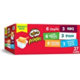 Pringles Snack Stacks Potato Crisps Chips, Flavored Variety Pack, Original, Sour Cream and Onion, Cheddar Cheese, BBQ…