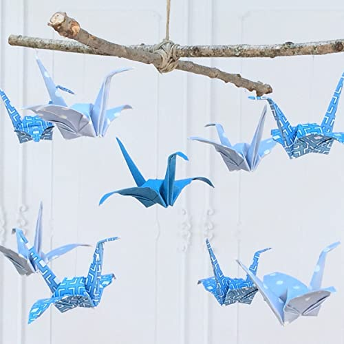 How To Make A Baby Mobile – Cute And Colorful Ideas | Paper crane ... | 500x500