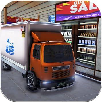 Amazon com: Drive Thru Supermarket Cargo Transport Truck