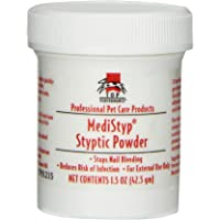 Top Performance Medistyp Pet Styptic Powder with Benzocaine, 1-1/2-Ounce