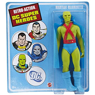 Retro-Action DC Super Heroes Martian Manhunter Collector Figure - Series 4: Toys & Games