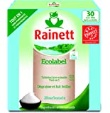 Rainett Tablettes Lave Vaisselle Tout en 1 Ecologique 30 Tablettes - Lot de 3