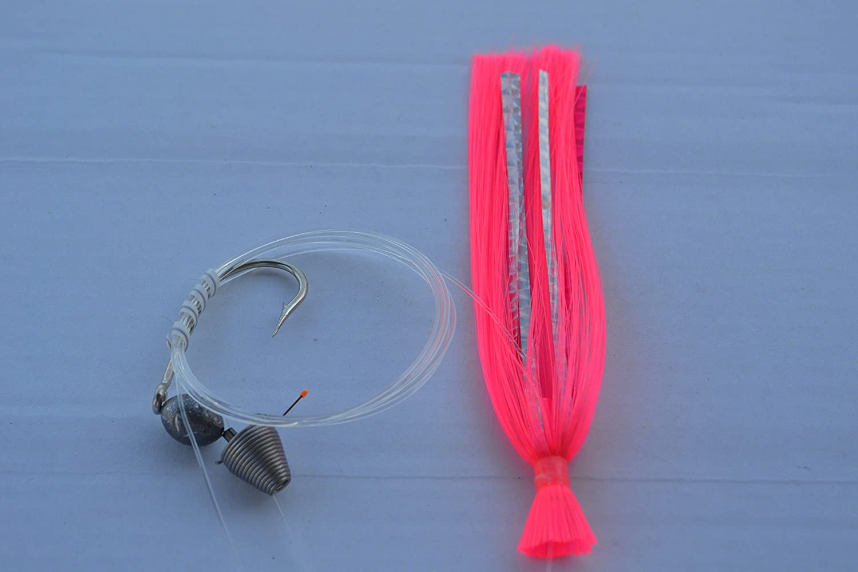 Blue Water Candy 11251 Ballyhoo Rig 1//2 oz Pink