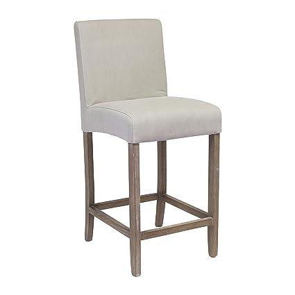 Fabulous Amazon Com Design Tree Home James Upholstered Counter Stool Cjindustries Chair Design For Home Cjindustriesco