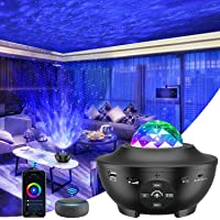 Star Projector, Smart Galaxy Light Projector Works with Alexa, Google Assistant, 16 Million Colors Phone App Remote…