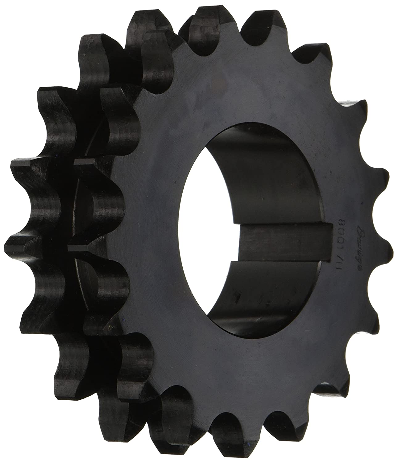 Browning D80Q17 Roller Chain Sprockets Bushed Split Taper 2 Strand Hardened Steel 80 Pitch 17 Teeth Regal
