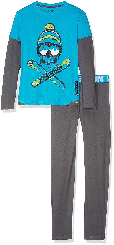 MZ - Pijama para niños, color Azul, para 10 años (140 - 146 cm): Amazon.es: Ropa y accesorios