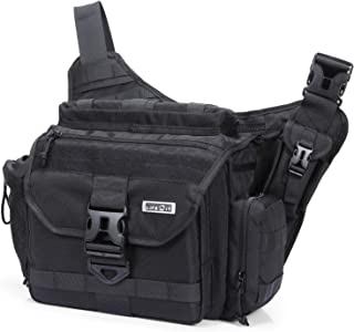 Lifewit Tactical Messenger Bag Multi-Functional Military Shoulder Bags Laptop Cross Body Bag Fit Hiking, Outdoor Sports, Daily Service Military Affairs