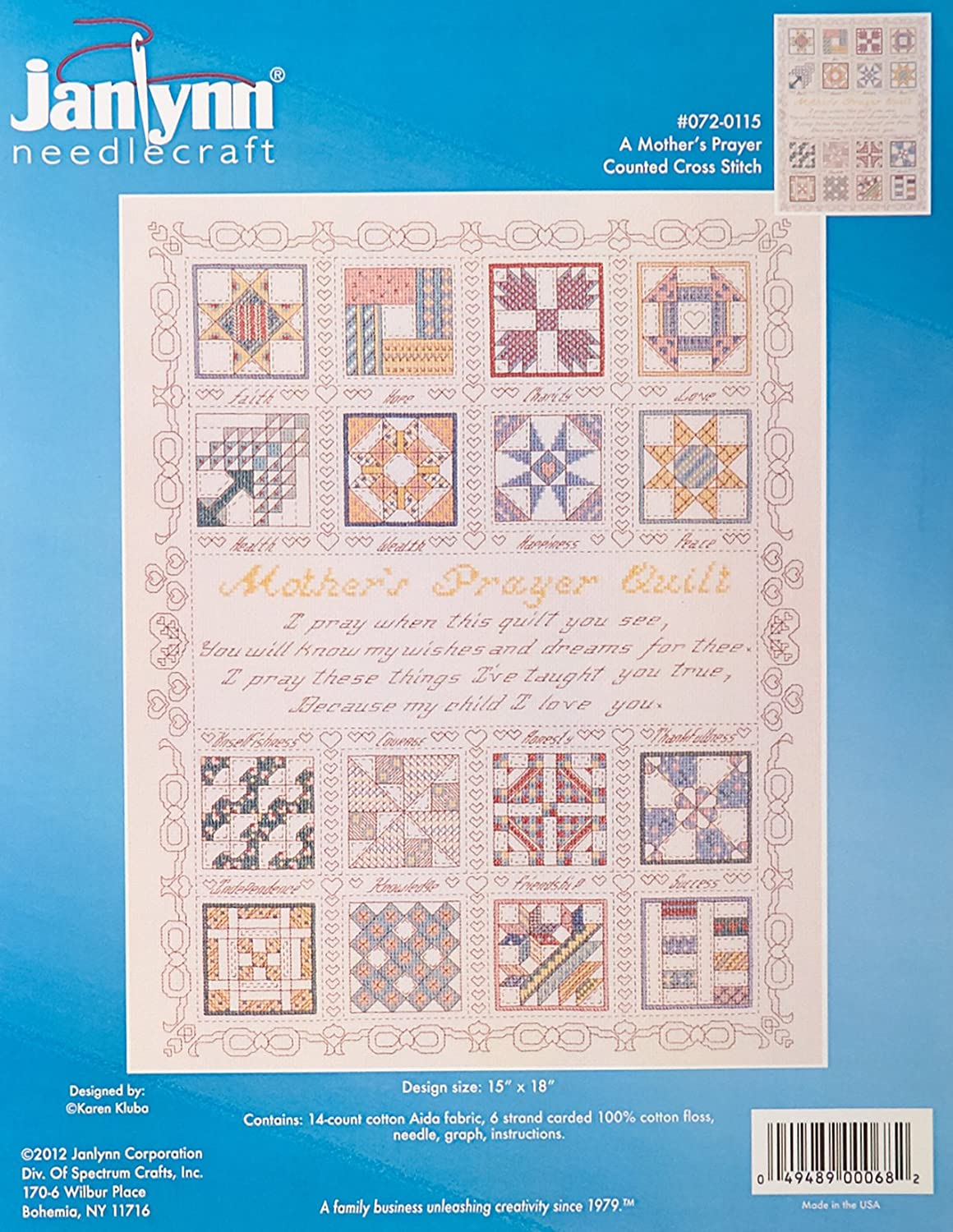Janlynn Counted Cross Stitch Kit Auction Day