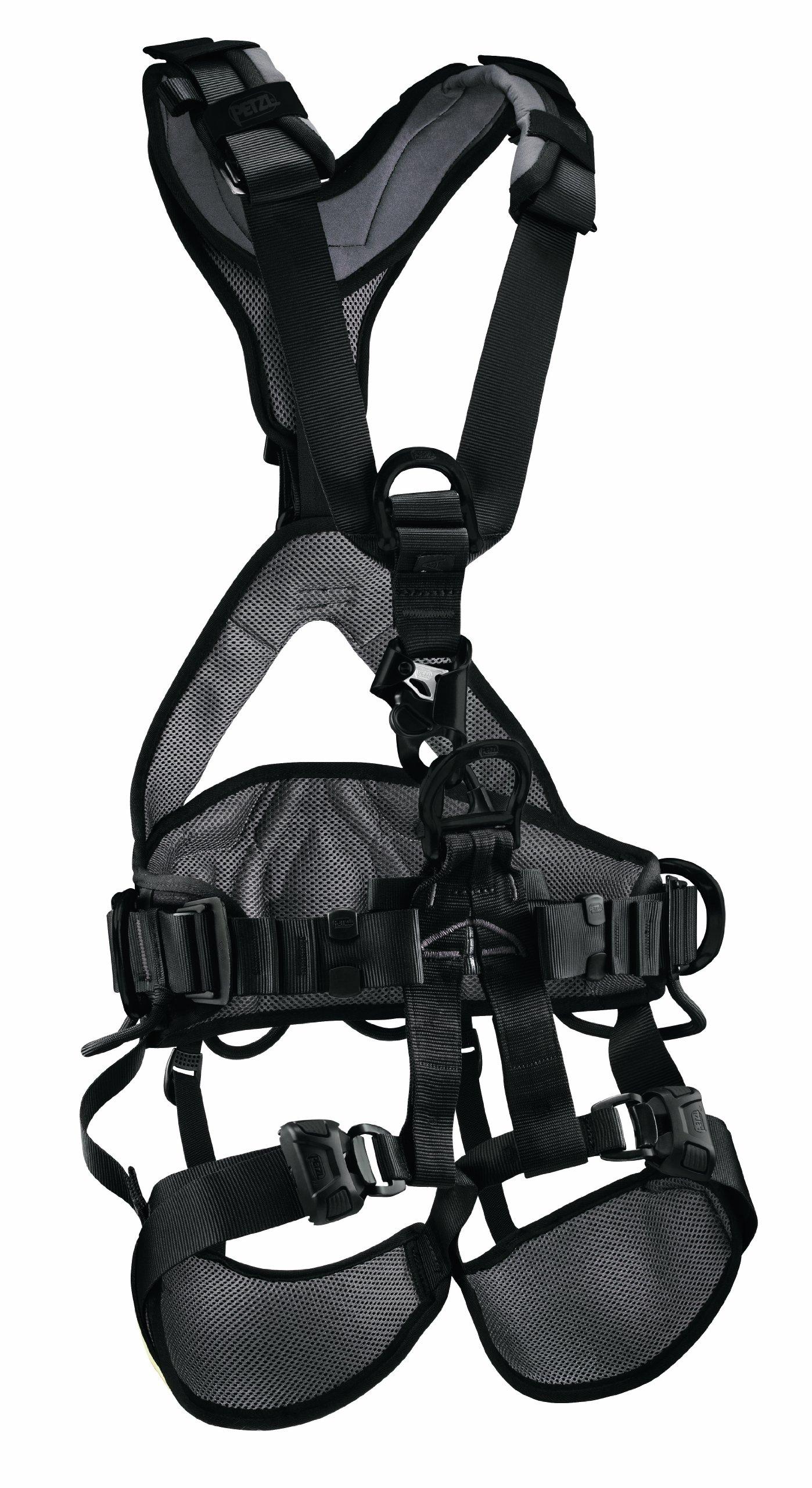 Petzl Pro Avao Bod Croll Fast Harness - Black Size 2 by Petzl