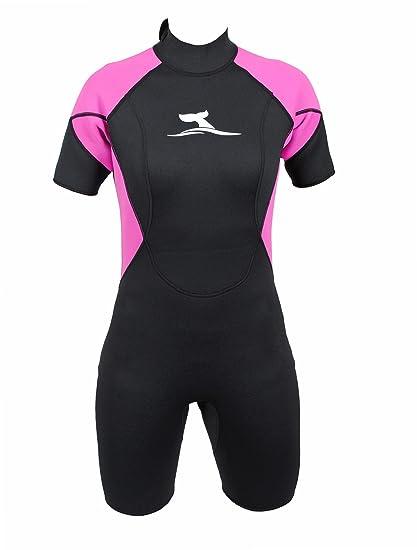 Traje de surf corto para mujer super stretch talla S/36 ...