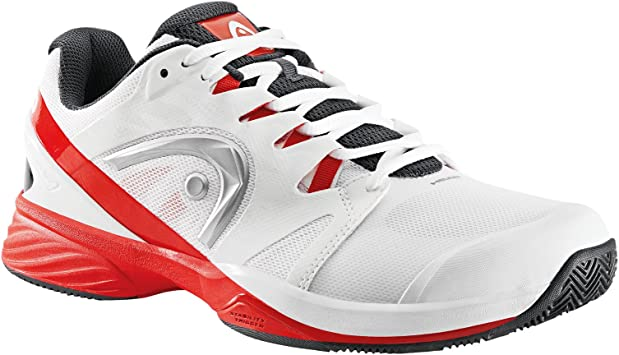 ZAPATILLAS HEAD NITRO PRO CLAY BLANCO Y ROJO: Amazon ...