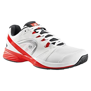 ZAPATILLAS HEAD NITRO PRO CLAY BLANCO Y ROJO: Amazon.es: Deportes y aire libre
