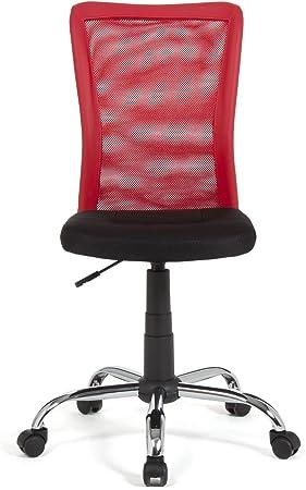 Alinea Mia Chaise De Bureau Dactylo Rouge Rouge 55 0x86 0x42 5 Amazon Fr Cuisine Maison