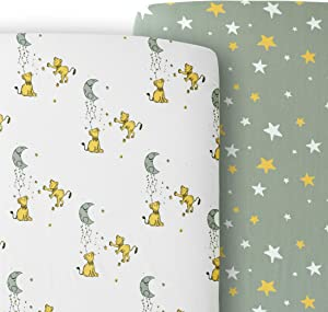 Giveaway: JumpOff Jo – 2 Pack Crib Sheets – 100% Cotton Super Soft