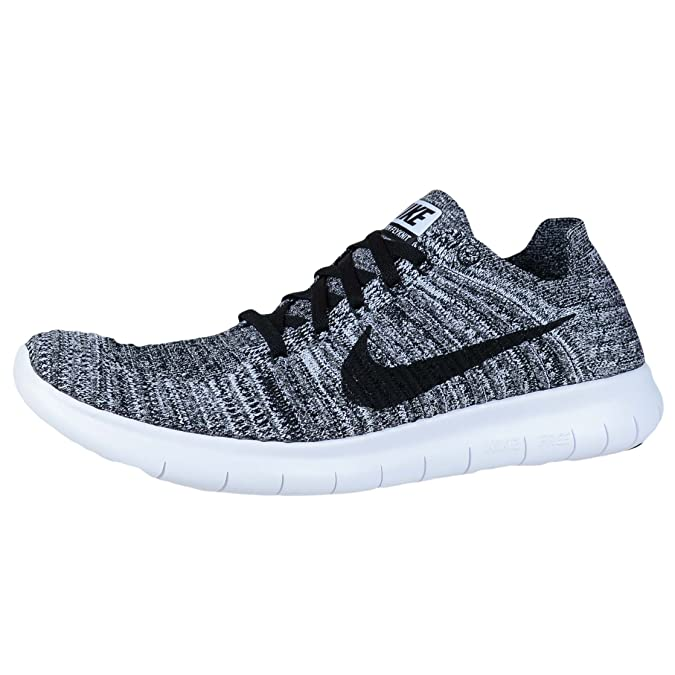 quality design 60dc2 72dcf Wmns NIKE FREE RN Flyknit UK 4 EUR 37.5 Bianco Nero 831070 100 NUOVI -  mainstreetblytheville.org