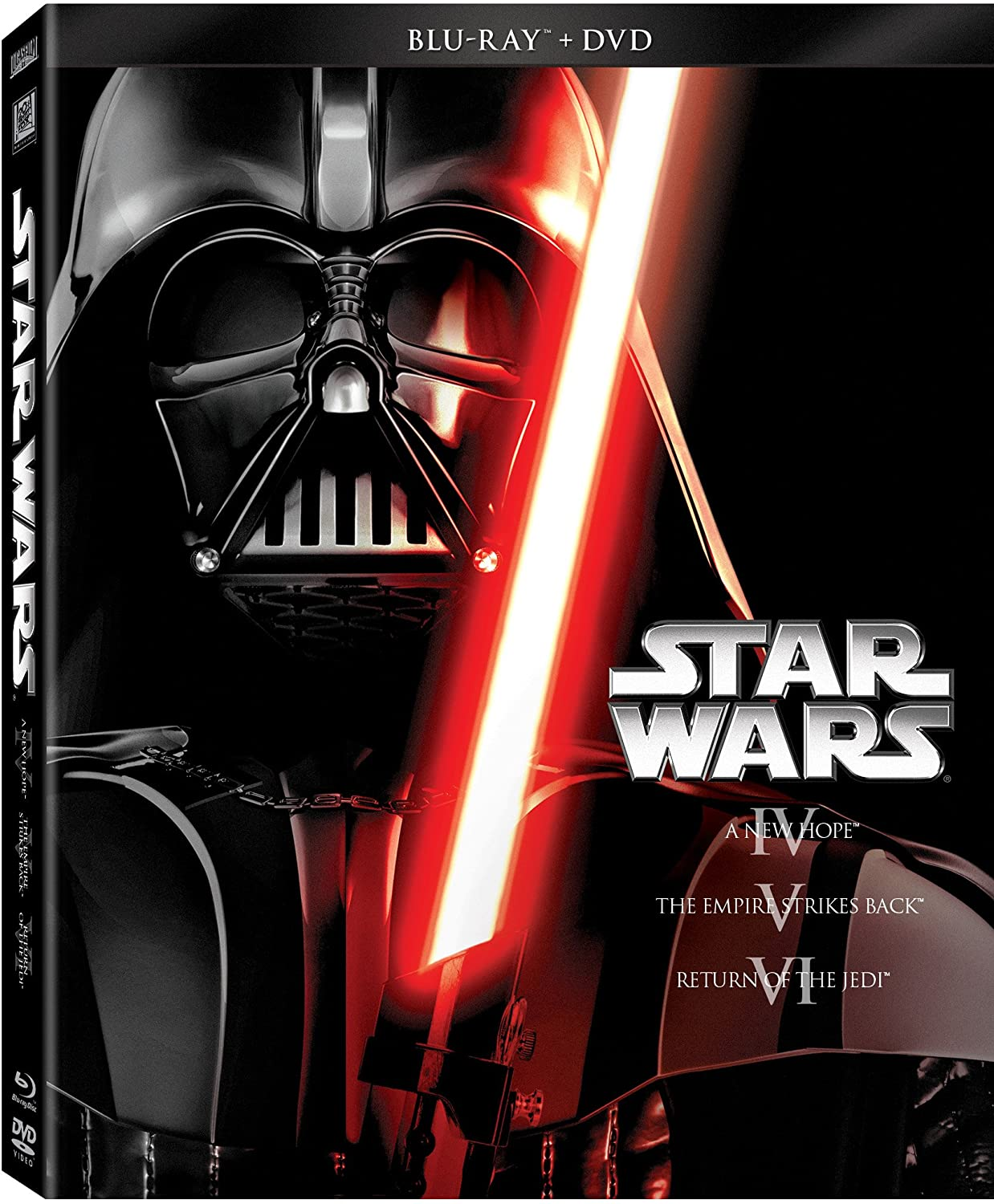 Amazon Com Star Wars Trilogy Episodes Iv Vi Blu Ray Dvd Mark Hamill Carrie Fisher Harrison Ford George Lucas Movies Tv