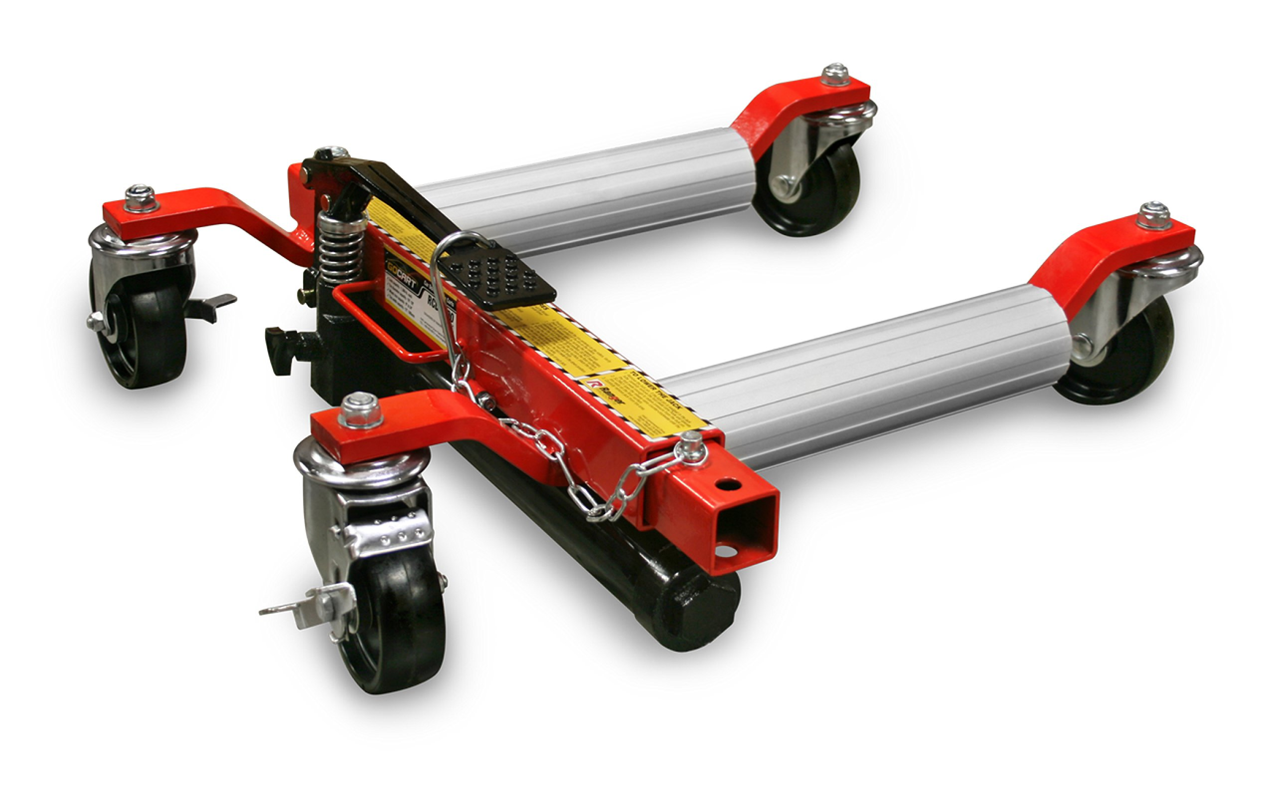 Ranger Gocart Rcd-1500 Rolling Car Dollies And Positioning Jacks / Set Of 2