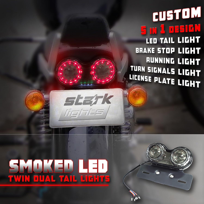 Alu LED Blinker Performance Custom Chrom für Suzuki Honda BMW Yamaha bike