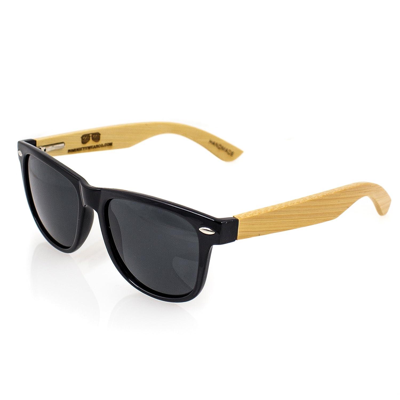 Amazon.com: anteojos de sol polarizadas Wayfarer anteojos de ...