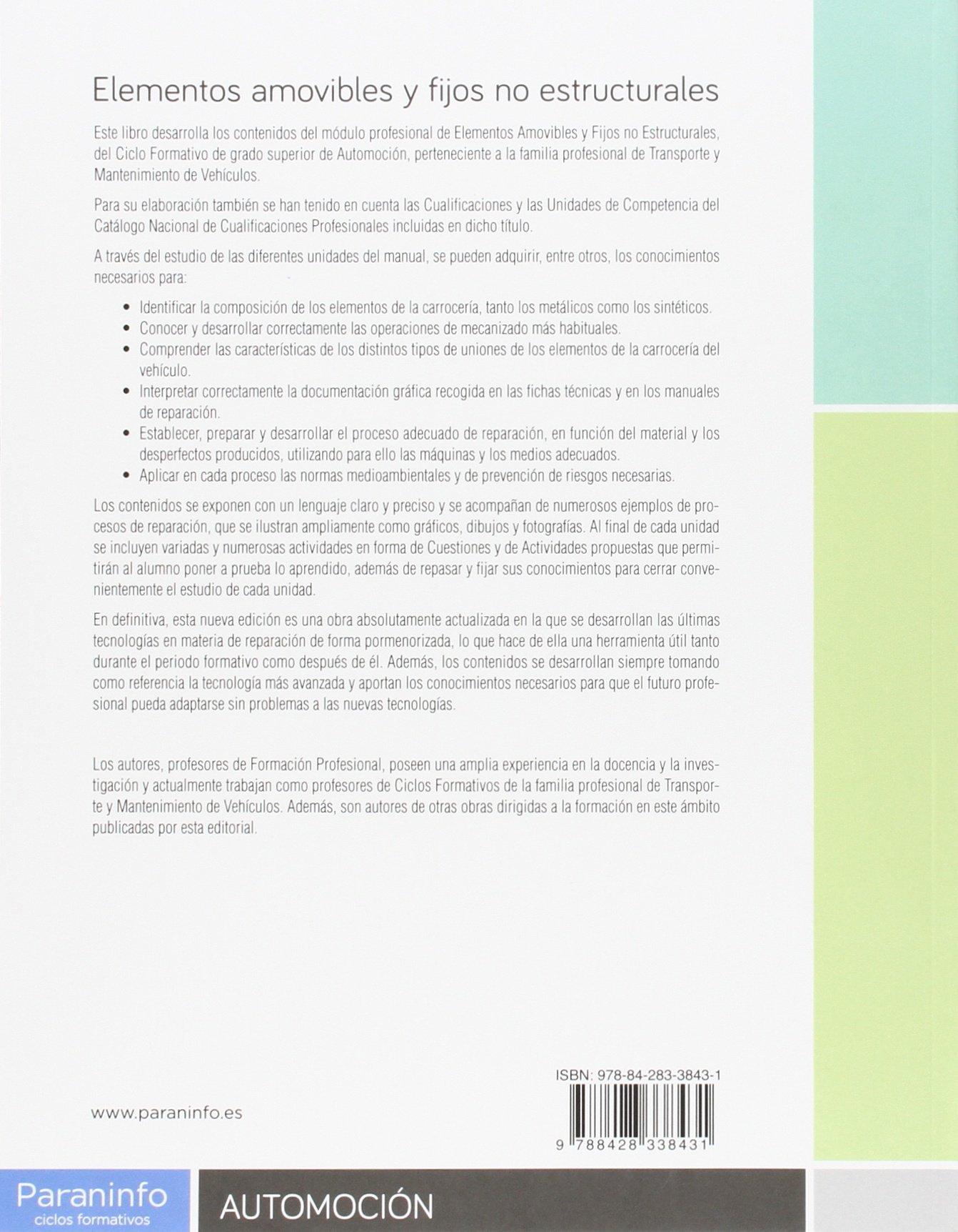 Elementos amovibles y fijos no estructurales 3.ª edición: Amazon ...