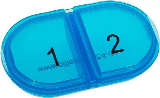 vanlo Estable Día Pastillero Duo con dos compartimentos, en caja ...