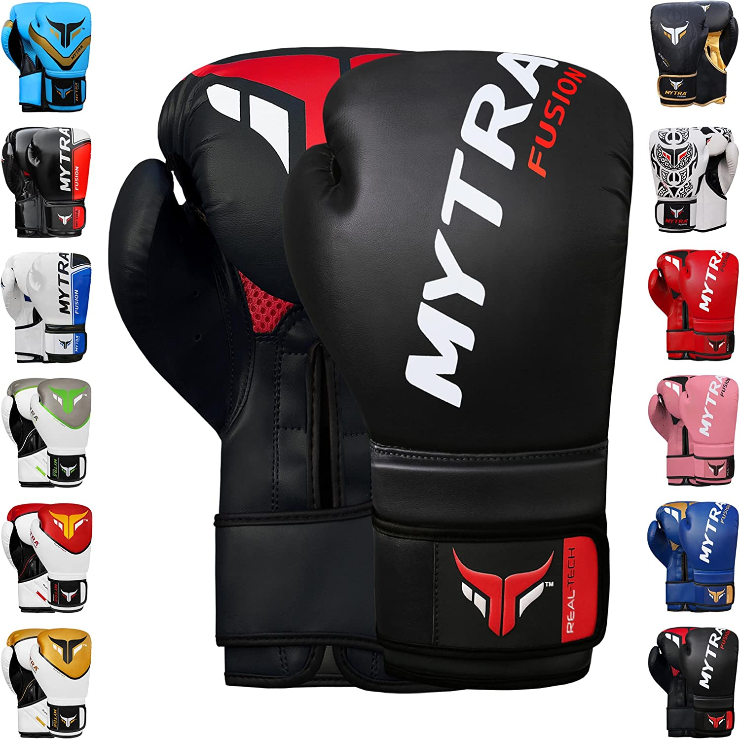 Mytra Fusion Boxing Gloves /& Focus Pads Set Fitness for Gym or Home Training Kit