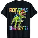 Roaring Kindergarten Dinosaur T Rex Back to School Shirt Boy