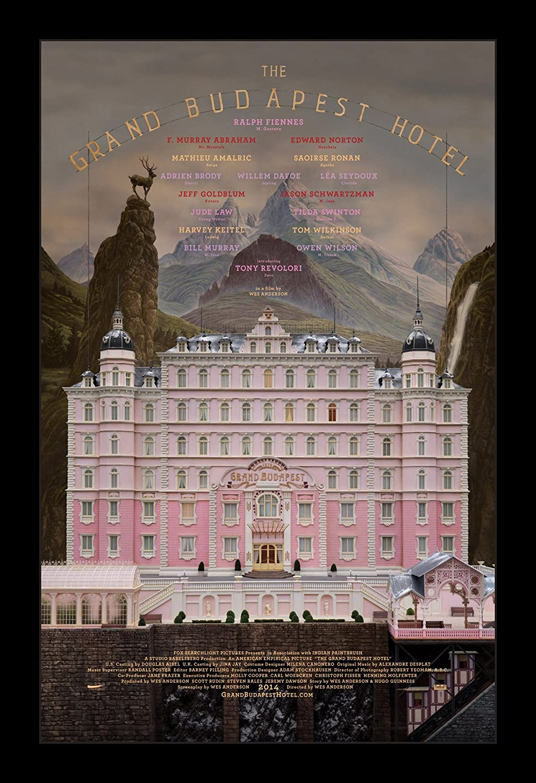 Wallspace Grand Budapest Hotel - 11x17 Framed Movie Poster