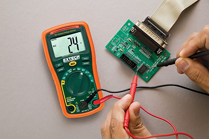 The multimeter is designed for automotive engineers in mind though it can be used to troubleshoot electronics and electrical faults at home.