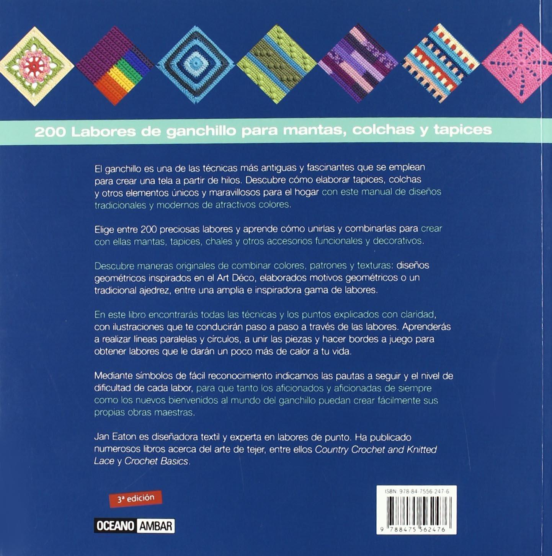 200 Labores De Ganchillo (Ilustrados / Labores): Amazon.es: Jan ...