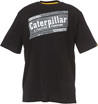 Caterpillar - Camiseta Logotipo Manga Corta Modelo Parallelogram ...