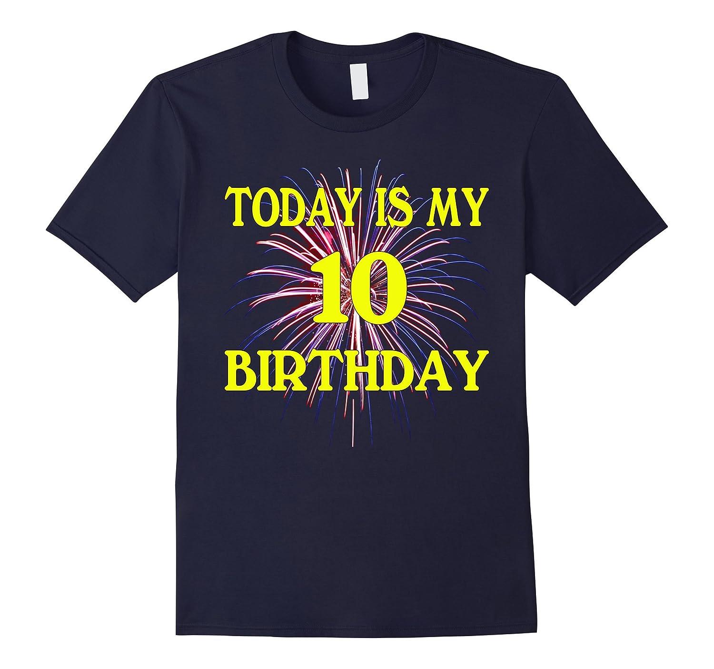 10th Birthday 10 Years Old-Tovacu