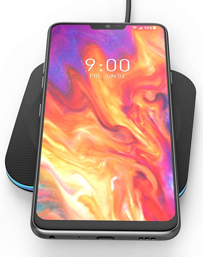 Encased Fast Charge Wireless Charger for LG G7 ThinQ, LG G8 ThinQ, Rapid Quick Charge Qi Pad w/Charging Power Cable (Ac Adapter Sold Separately) Case ...