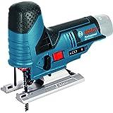 Bosch GST 10,8V Li - Sierra (Ión de litio, 10,8V, 2 Ah, 1,5 kg) Negro, Azul