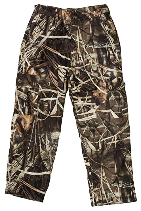 c7af9d8451d52 Drake Waterfowl Youth MST Hunting Pants Fleece Lined, Waterproof Hunting  Pants Max 4 Color (