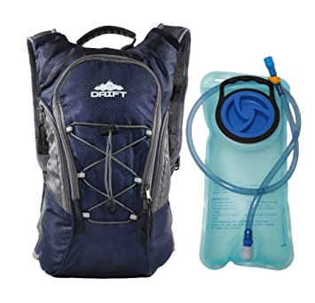 Amazon.com : Hydration Backpack with 2 Liter Water Bladder Fits ...